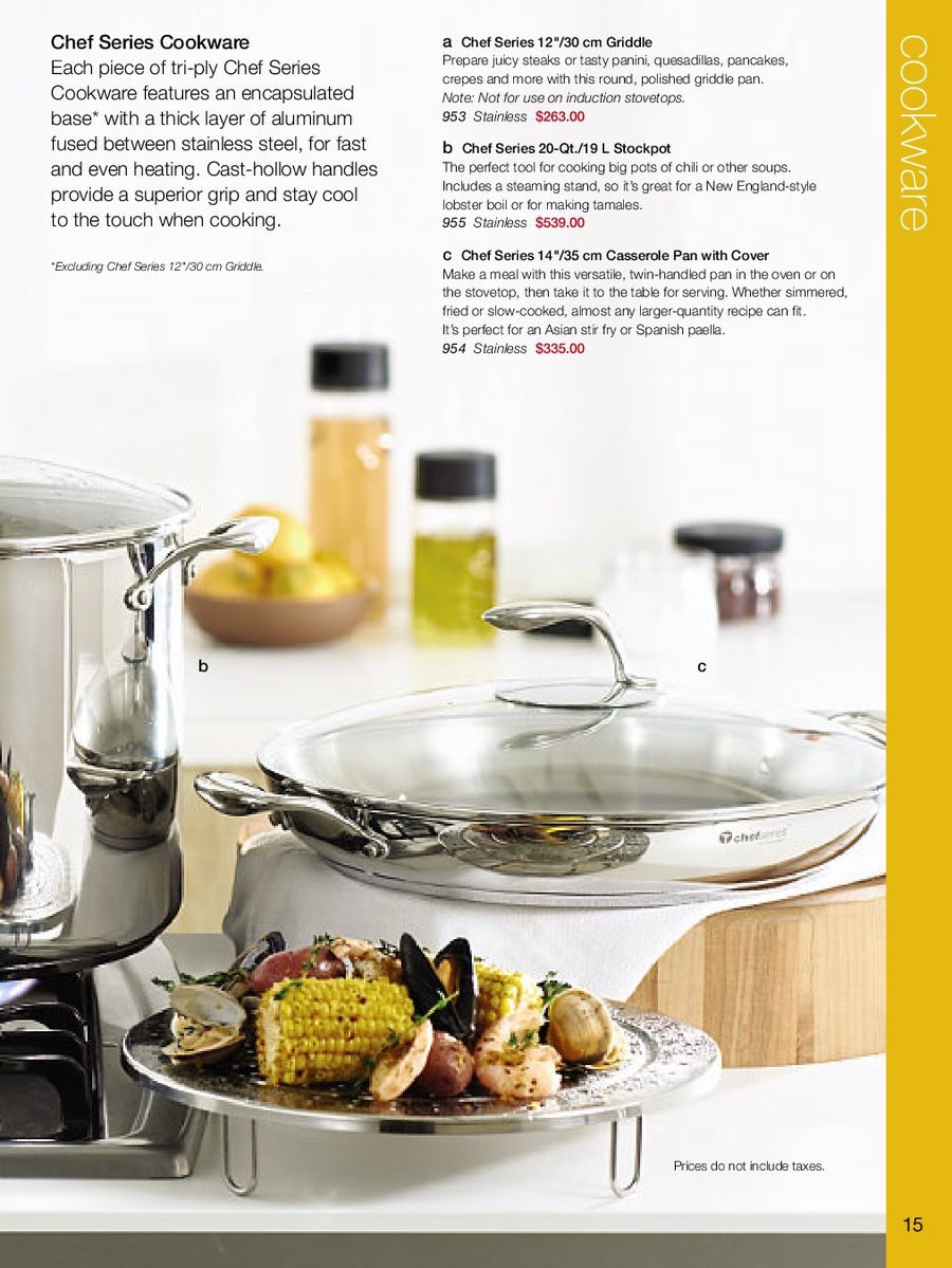 Cookware Summer 2012 By Tupperware Canada Tchef Fry Pan P 1 4