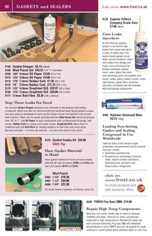 Gasket and Sealers Spring 2012