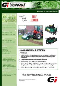 Tractor Mounted Aerator 12180TM 2012