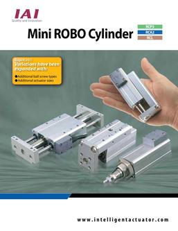 Mini ROBO Cylinder® Catalog (5th Edition)