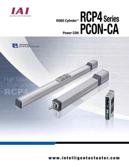 RCP4 Series and PCON-CA Catalog