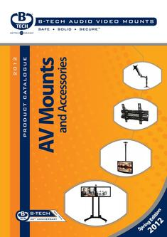 Audio Video Mounts 2012