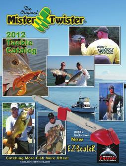 2012 Mister Twister Tackle Catalog