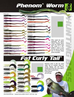 Phenom® Worm, Fat Curly Tail® 2015