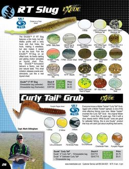 RT Slug, Curly Tail® Grub 2017