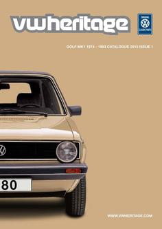 Golf - MK1 Parts Catalogue Part 1 2015