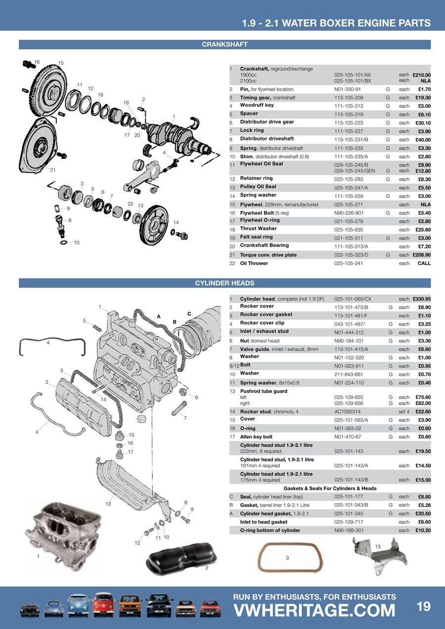 WRG-3746] Waterboxer Engine Diagram