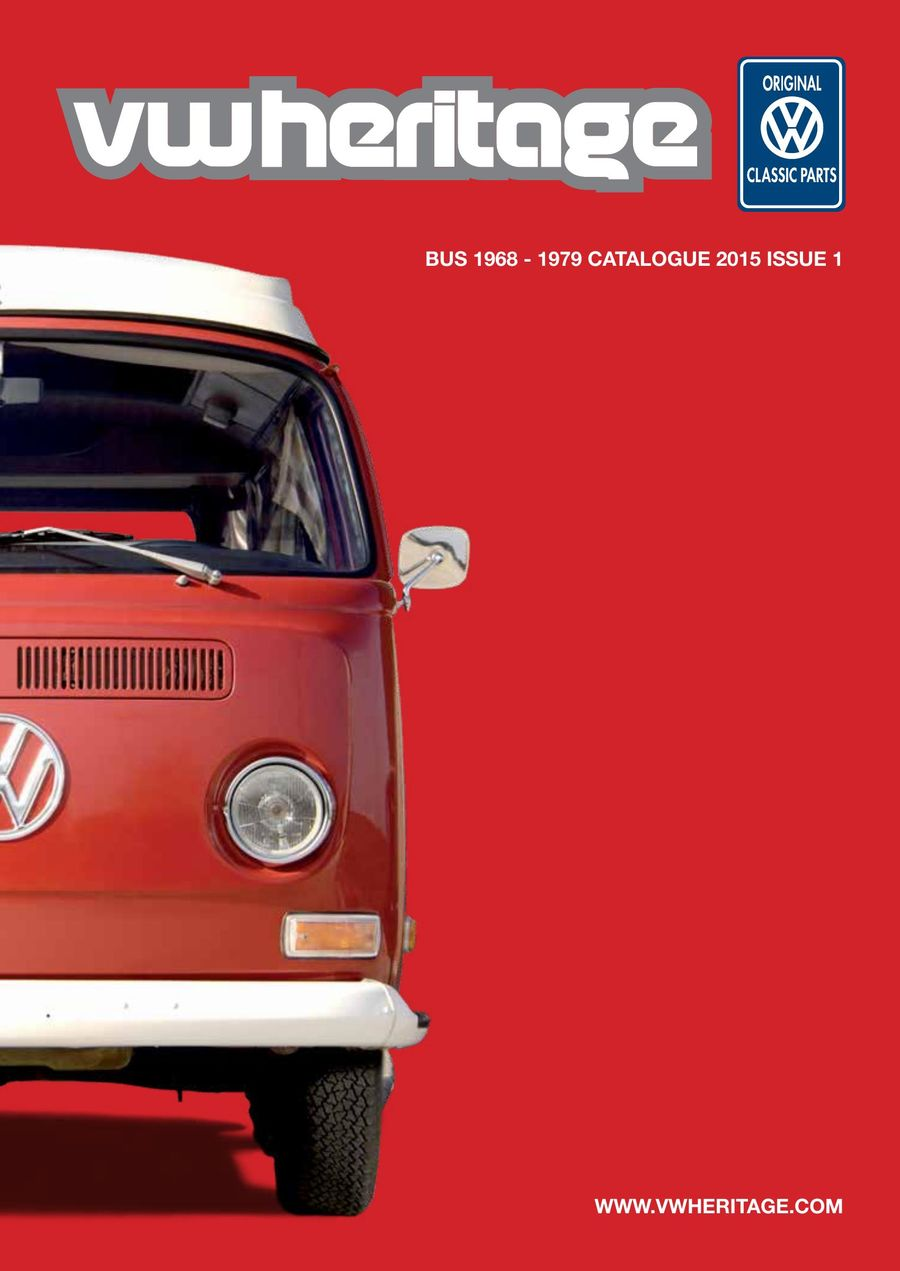 Bay Window Catalogue Part 1 2015 by VW Heritage
