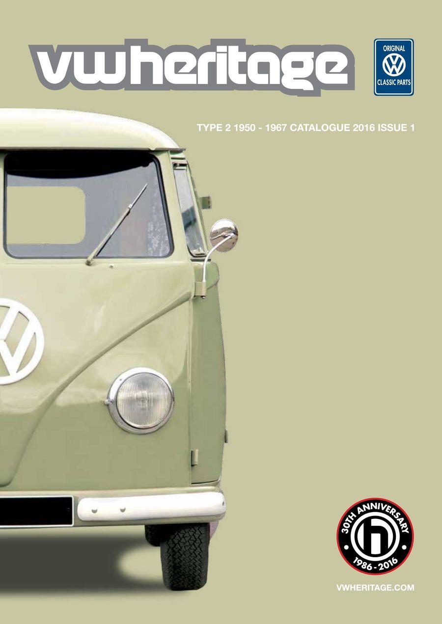 Split Bus Catalogue Part 1 2016 by VW Heritage