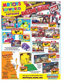 Toys Awesome August Sale 2012