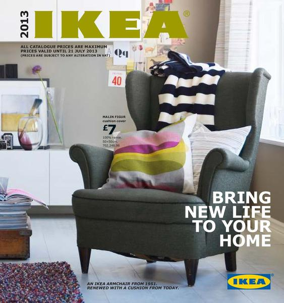 Page 1 of UBC Press of the catalog Ikea Catalogue 2013