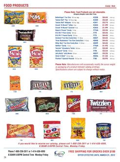Food Products / Storage 2012