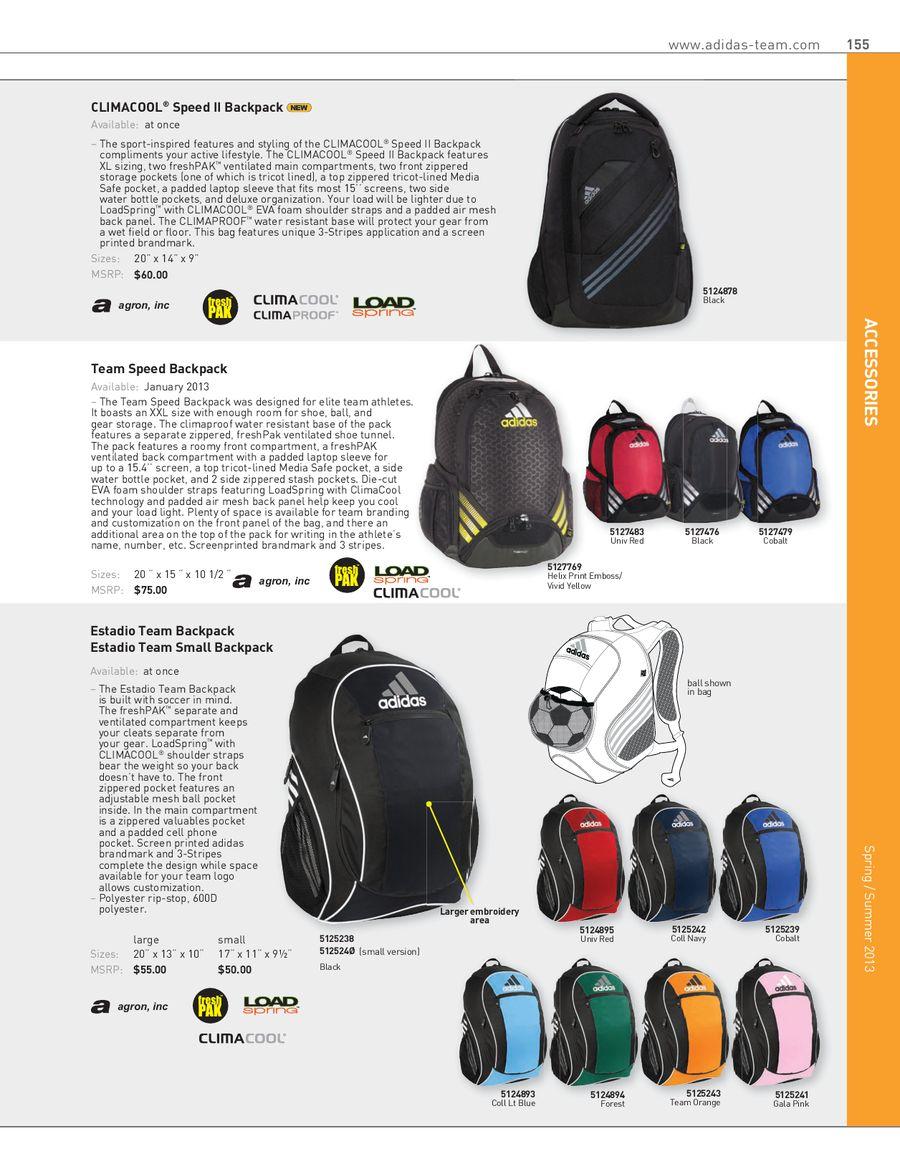 2eafbab5edf0 Spring Summer 2013 Accessories by adidas Team