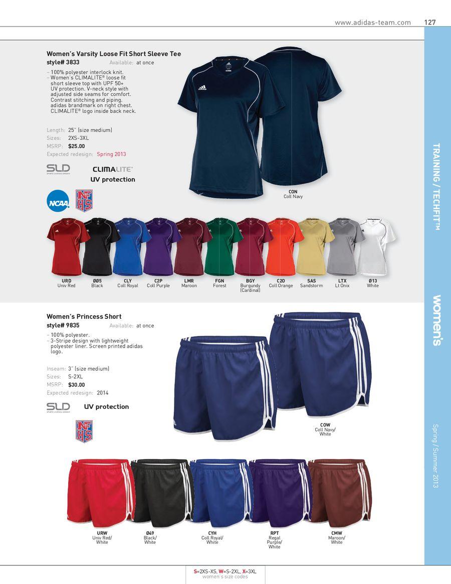 Adidas Climalite Women's Long Sleeve Tee 3872, White