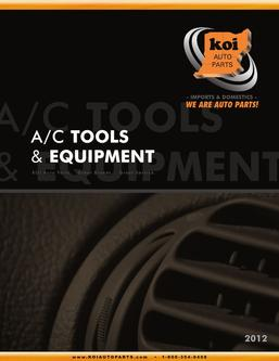 A/C Tools & Equipment