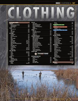 2011 Outdoor Clothing