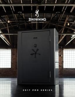 2017 Browning Pro Series Safes
