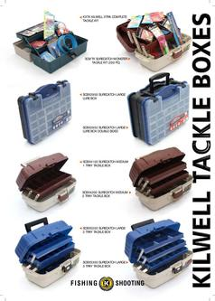 Kilwell Tackle Boxes 2012
