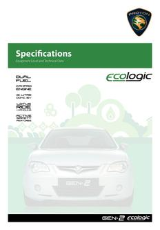 ecoLogic Specification 2012