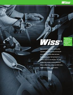 Wiss® Hand Tools 2015
