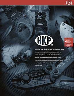 HKPorter® Hand Tools 2015