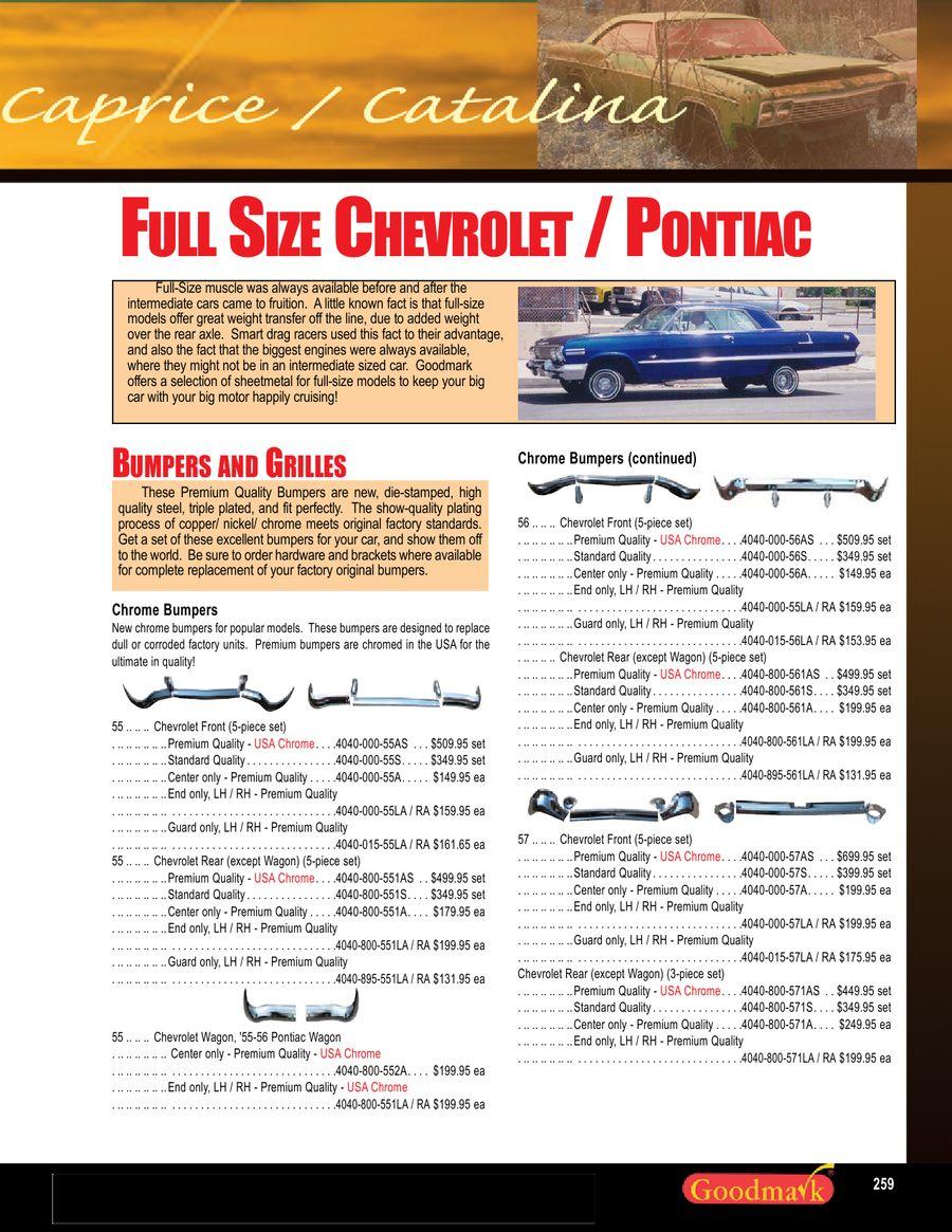 EDP Coated Steel Trunk Floor Patch RH Chevrolet Impala Goodmark