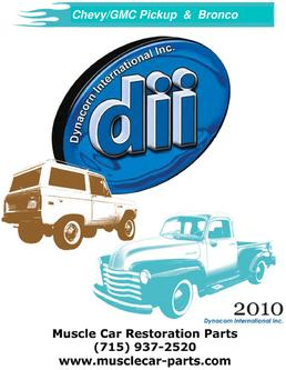 Dynacorn GM Truck Restoration Parts 2012