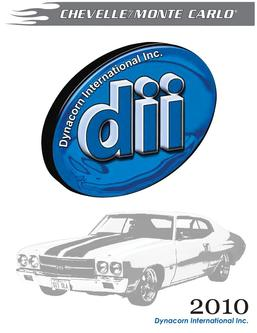 1970 monte carlo body parts in Dynacorn Chevelle Restoration
