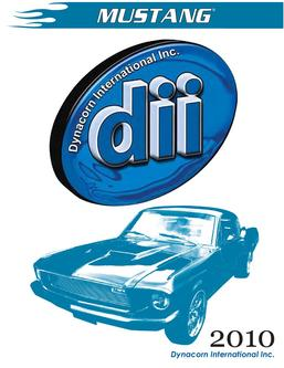 Dynacorn Ford Mustang Restoration Parts 2012