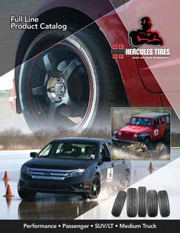 Performance • Passenger • SUV/LT • Medium Truck Tires 2012