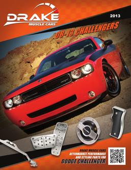 Dodge Challenger aftermarket performance and styling parts 2013