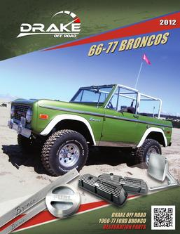 66-77 Ford Bronco Parts 2012
