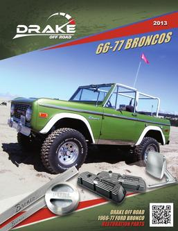 66-77 Ford Bronco Parts 2013