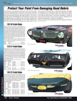 Firebird / Trans Am Car Care Products 2012