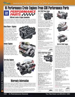 Chevy & GMC Truck Engines & Components 2012