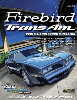 Firebird / Trans Am Parts & Accessories 2015