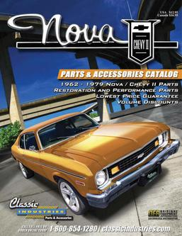 Nova / Chevy II Parts & Accessories 2015