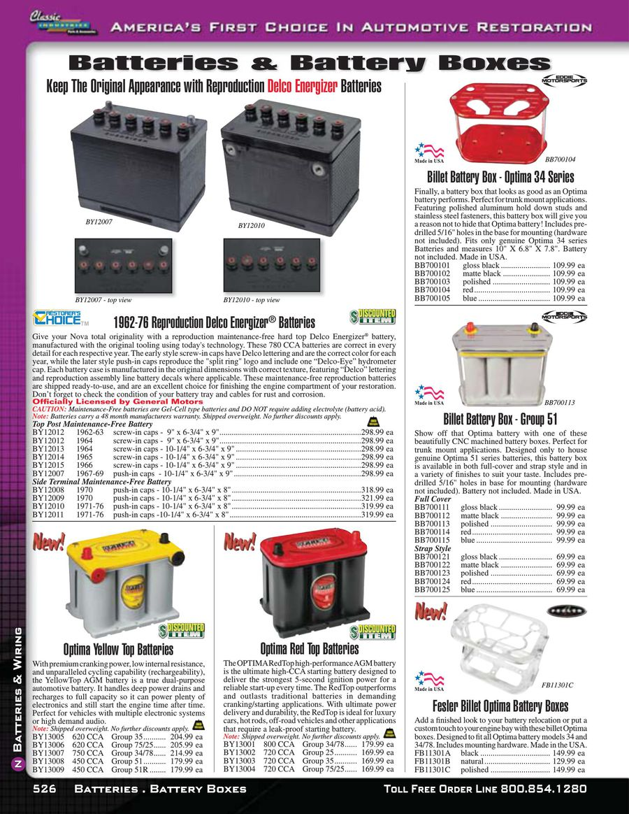 Page 11 of Nova / Chevy II Batteries & Wiring 2015