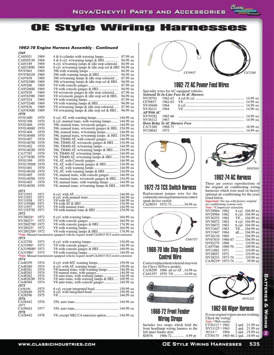 Page 11 Of Nova Chevy Ii Batteries Wiring 2015 74 Harness P 18