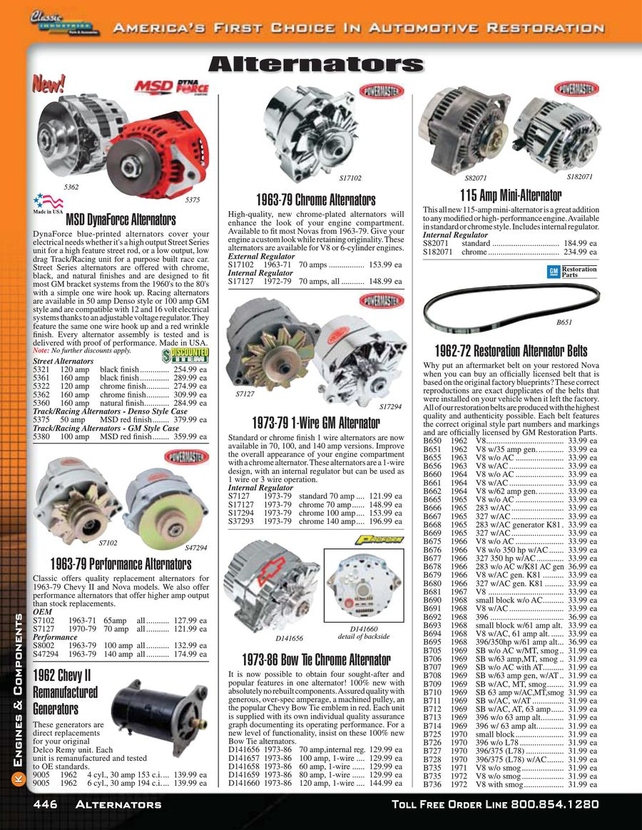 Page 450 of Nova / Chevy II Parts & Accessories 2015