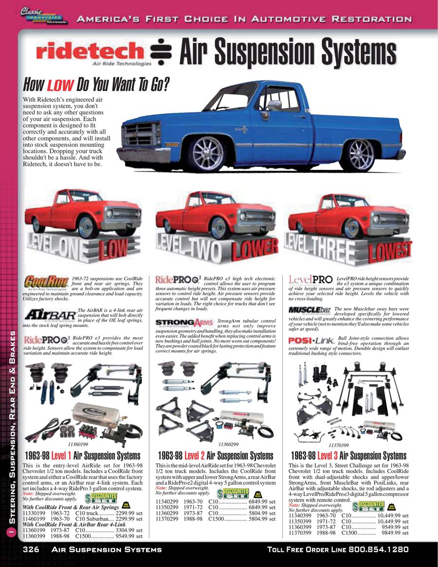 Page 23 of Chevy & GMC Truck Suspension, Rear End & Brakes 2015