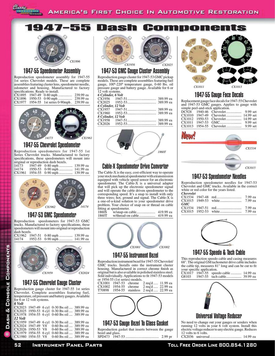 Page 3 Of Chevy Gmc Truck Dash Components 2015 1949 P 56