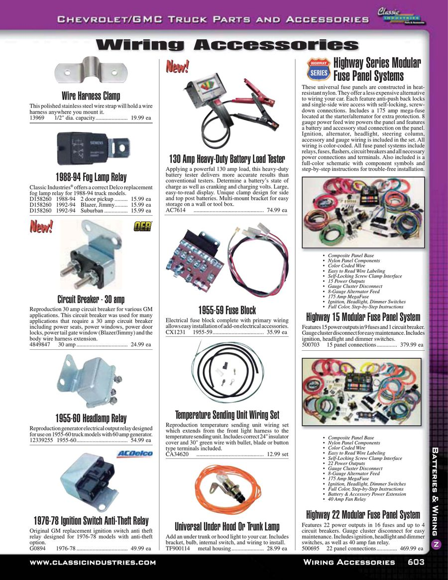 Page 605 Of Chevy Gmc Truck Parts And Accessories 2015 Electrical Wire Harness Testers P 654