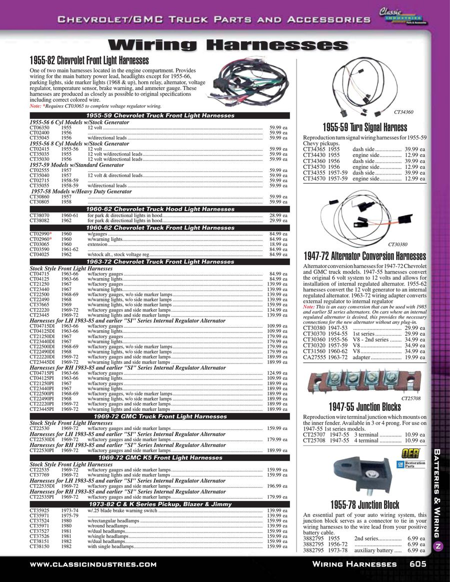 Page 606 Of Chevy Gmc Truck Parts And Accessories 2015 Auto Wiring Connectors P 654