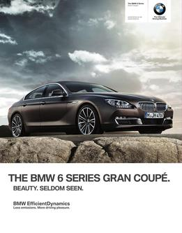 BMW 6 Series Gran Coupe 2014