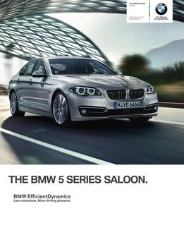BMW 5 Series Saloon 2014
