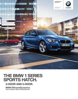 BMW 1 Serie Sports Hatch 3-door and 5-door 2014