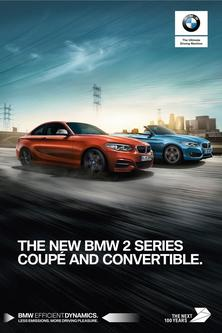 BMW 2 Series Convertible & Coupe July 2017
