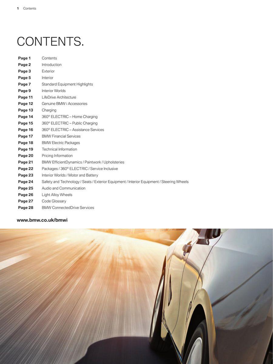 Bmw I3 Price List July 2014 By Bmw Uk