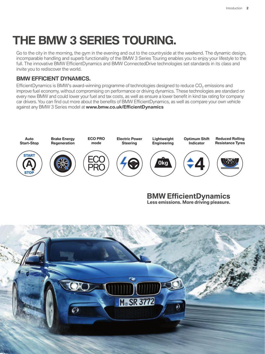 BMW Series Touring Price List July By BMW UK - Bmw 3 series list